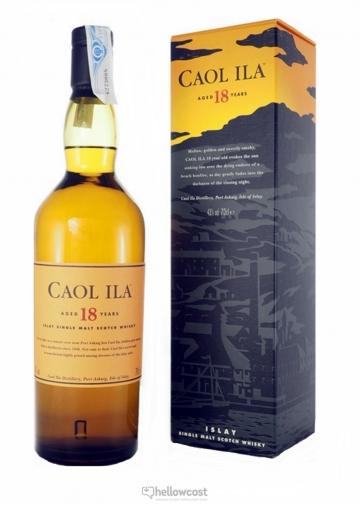 Caol Ila 18 Ans Whisky 43% 70 Cl
