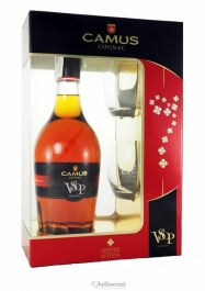 Camus Vosp Elegance Cognac 40% 70 Cl + Verres - Hellowcost