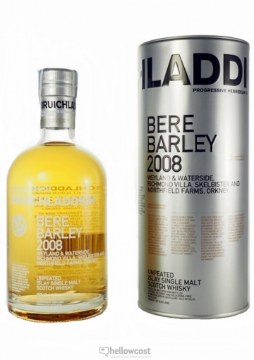 Bruichladdich Bere Barley 2008 Whisky 50% 70 Cl