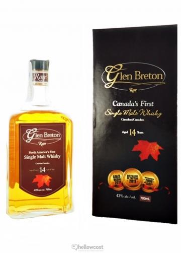 Glen Breton 14 Ans Whisky 43% 70 Cl