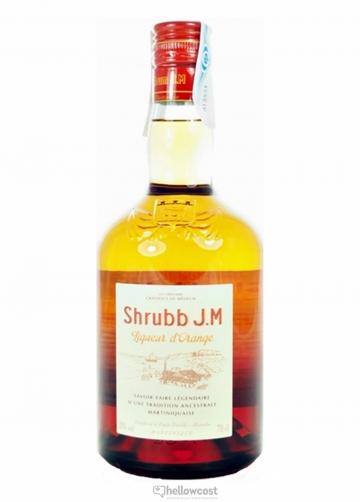 Jm Shrubb Rhum Liqueur D´Orange 35% 70 Cl