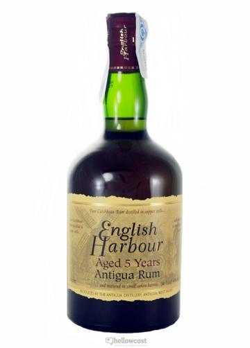 English Harbour Rhum 5 Ans Antigua Rum 40%70 Cl