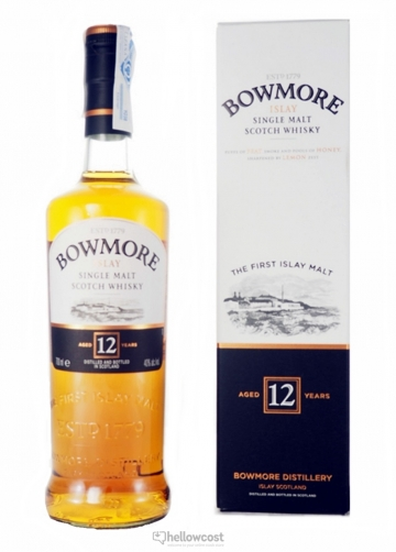 Bowmore 12 Ans Whisky 40% 70 Cl