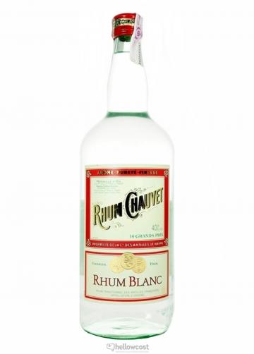 Chauvet Rhum Blanc Antilles 40% 1,5 Litres