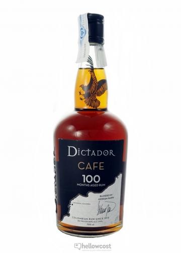 Dictador Cafe 100 Rhum 40% 70 Cl