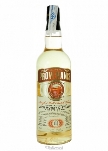 Provenance Glen Moray Whisky 11 Ans 2001 46% 70 Cl Douglas Laings