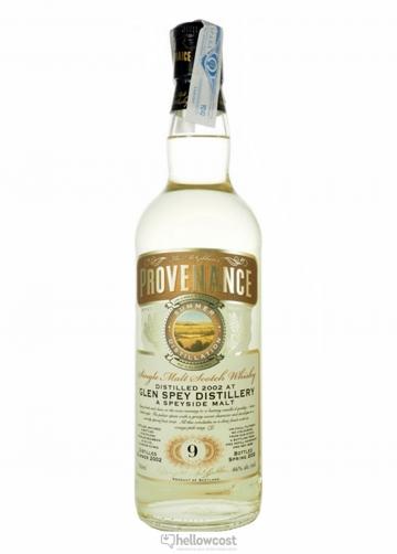 Provenance Glen Spey Whisky 9 Ans 2002 46% 70 Cl