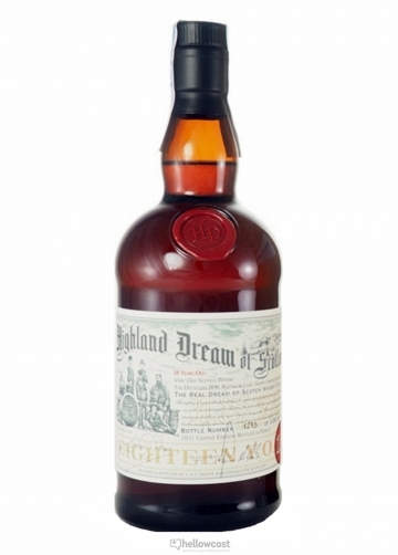 Highland Dream 18 Ans Whisky 43% 70 Cl