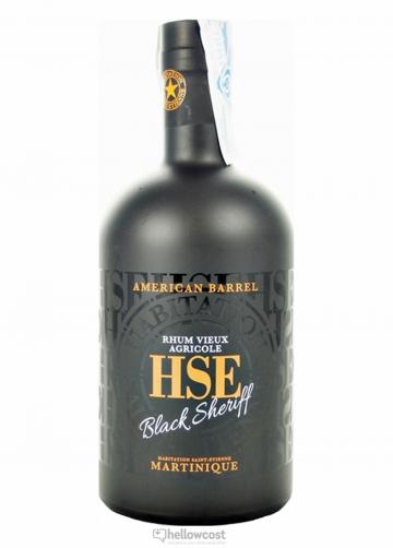 Hse Vieux American Barrel Black Sheriff Rhum 40% 70 Cl
