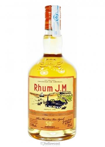 Jm Rhum Gold Agricole 50% 70 Cl