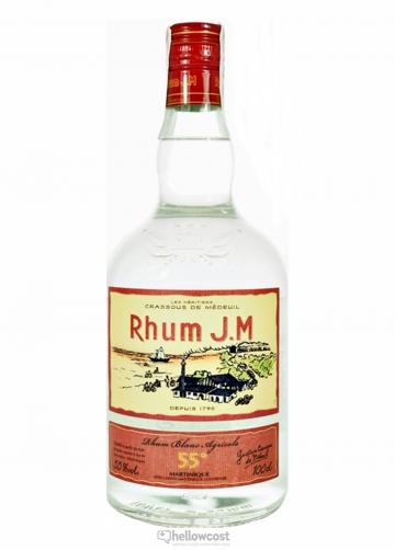 Jm Rhum Blanc Agricole 55% 1 Litre