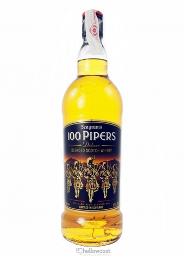 100 Pipers Whiksy 40% 1 Litre