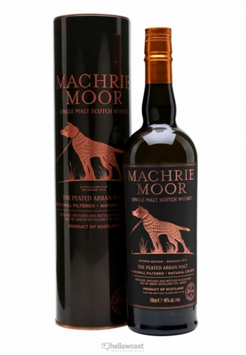The Arran Machrie Moor Cask Strength 2016 Whisky 46% 70 Cl