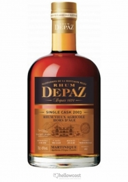 Depaz Hors D'âge 2002 Ron 45% 70 cl - Hellowcost