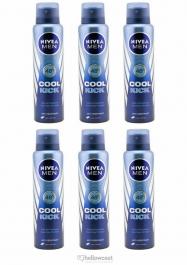 Nivea Desodorante Black White power For Men Spray 6x200 ml - Hellowcost