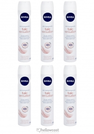 Nivea Deodorant Talc Sensation For Woman Spray 6x200 ml - Hellowcost
