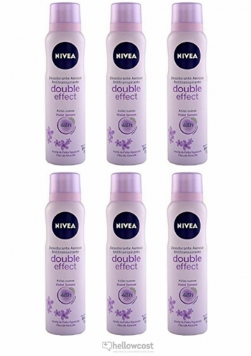 Nivea deodorant Double effect For Woman Spray 2x200 ml