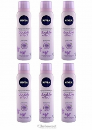 Nivea deodorant Double effect For Woman Spray 6x200 ml - Hellowcost