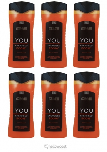 Axe gel Douche You Energised 6x400 ml