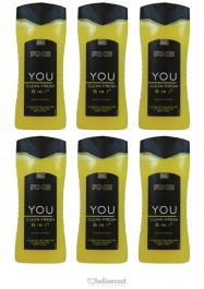 Axe gel Douche Re-Load 2 IN 1 6x400 ml - Hellowcost