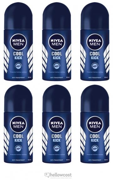 Nivea Deodorant Bille Cool Kick 2X50 ml