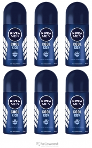Nivea Deodorant Bille Black&White Invisible Fresh 6X50 ml - Hellowcost