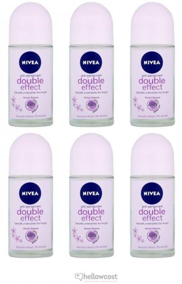 Nivea Deodorant Bille Double Efect 2X50 ml