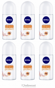 Nivea Deodorant Bille Stress Protect Woman 6X50 ml - Hellowcost