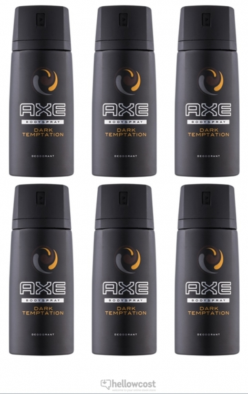 Axe Deodorant Darktemptation Spray 2x150 ml