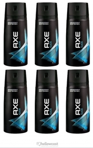Axe Deodorant Black Spray 6x150 ml - Hellowcost