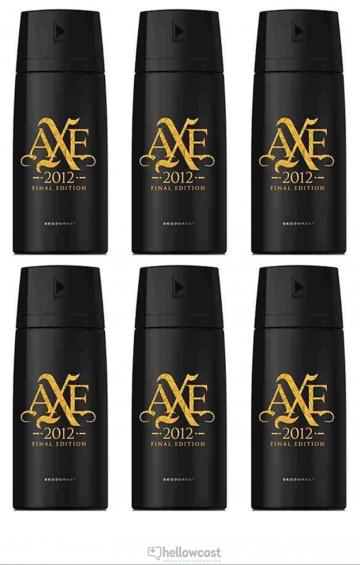 Axe Deodorant 2012 Final Edition Spray 2x150 ml