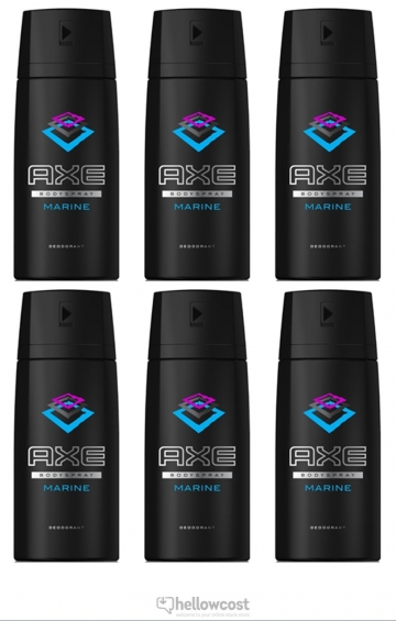 Axe Deodorant Marine Spray 2x150 ml