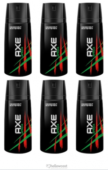 Axe Deodorant Africa Spray 2x150 ml