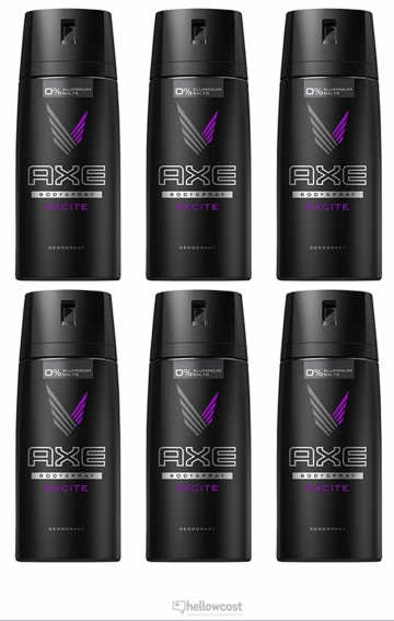 Axe Deodorant Excite Spray 2x150 ml