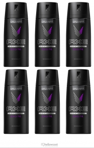 Axe Deodorant Dark temptation Spray 6x150 ml - Hellowcost