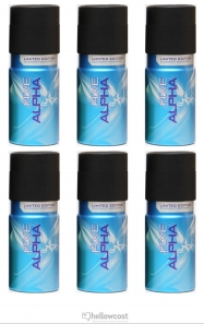 Axe Deodorant Alaska Spray 6x150 ml - Hellowcost
