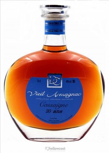 Chateau De Cassaigne 20 Ans Armagnac 40% 70 Cl