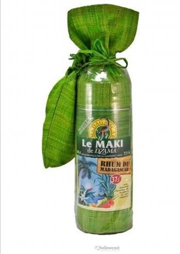 Dzama Le Maki Rhum Blanc De Madagascar 37.5º 1 Litre