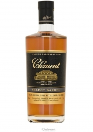 Clement Secrets De Fûts Intense Rhum 41,4% 70 cl - Hellowcost