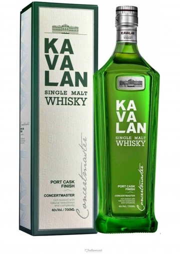 Kavalan Cask Port Finish Whisky 40% 70 Cl