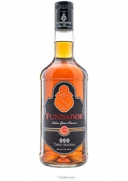 Fundador Triple Madera Brandy 38% 70 cl - Hellowcost