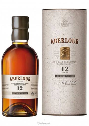 Aberlour 12 Years Non Chill-Filtered Whisky 48% 70 cl