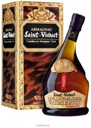 Saint Vivant Armagnac 40% 70 cl - Hellowcost
