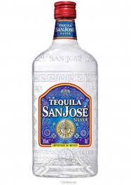 San Jose Silver Tequila 35% 70 cl - Hellowcost