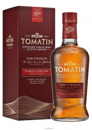 Tomatin Cask Strenght Bourbon oloroso Sherry Whisky 57,5% 70 cl - Hellowcost