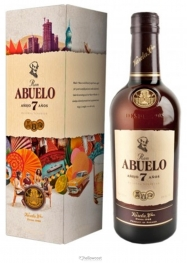 Abuelo 15 Years Oloroso Rhum 40% 70 cl - Hellowcost