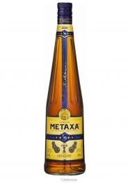 Metaxa 5 Years Brandy 38% 100 cl - Hellowcost