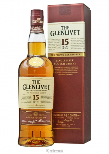 The Glenlivet 15 Ans The French Oak Reserve Whisky 40% 1 Litre