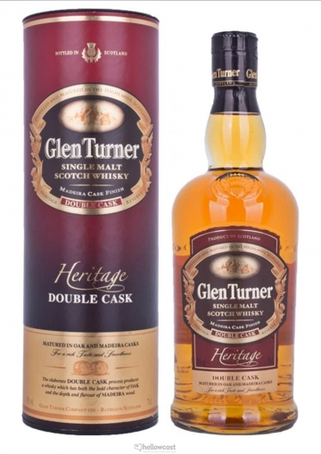 Glen Turner Heritage Double Wood Malt Whisky 40º 70 Cl