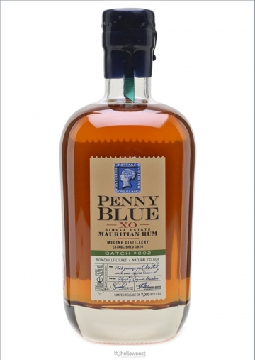 Penny Blue Xo Rhum Bach 002 43.2% 70 cl